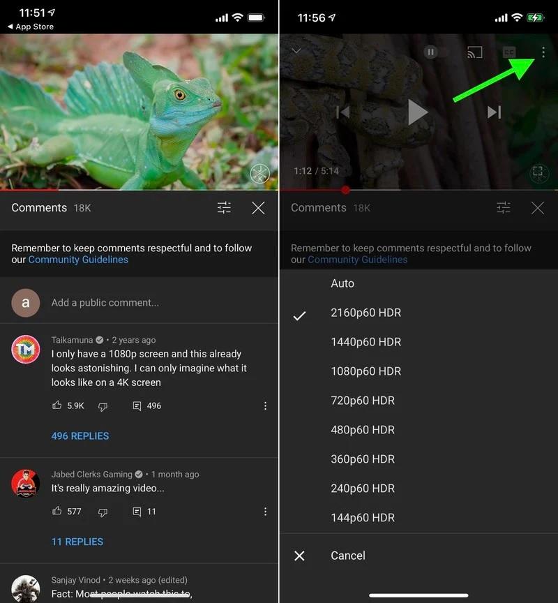 iPhone 12 e iPhone 12 Pro: YouTube si aggiorna con l'HDR, ora disponibile